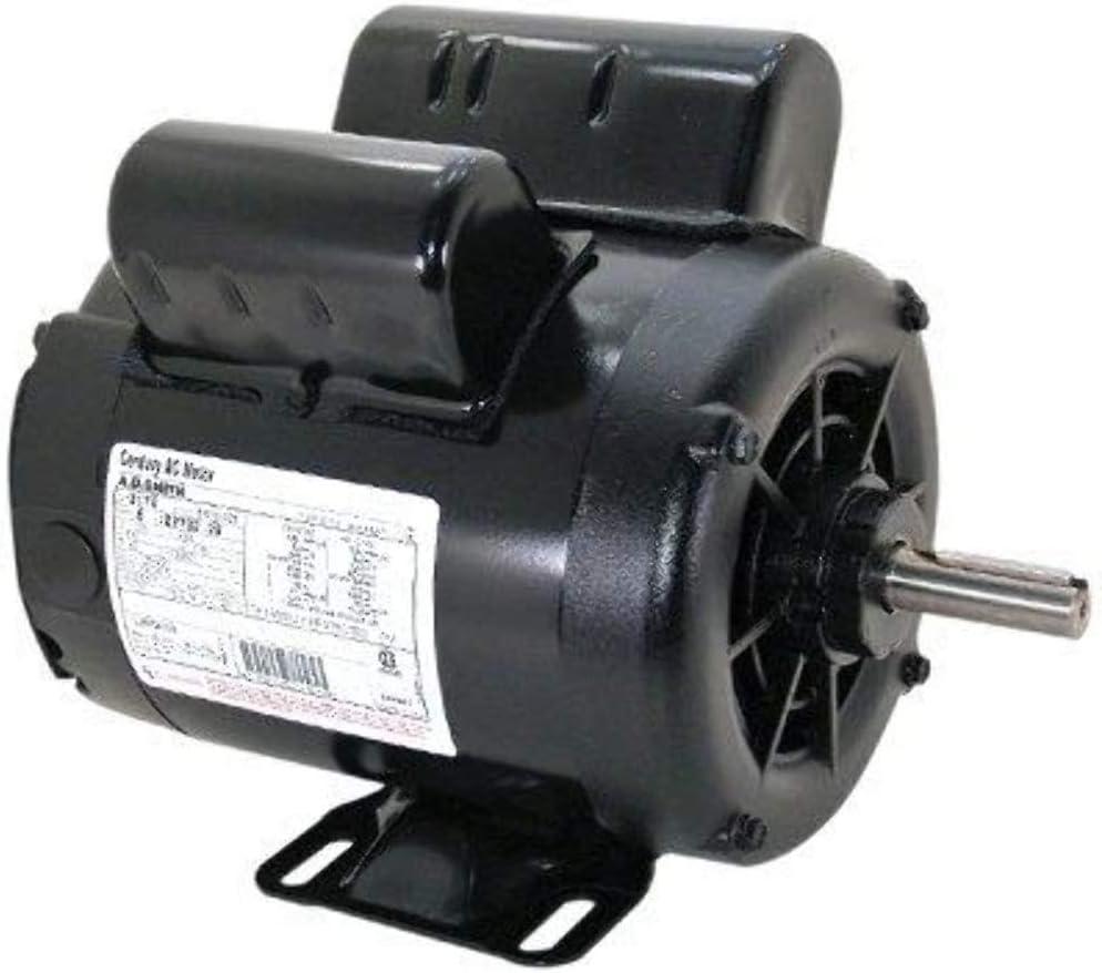 B0009WACZM 2 HP SPL 3450 RPM M56 Frame 115/230V Air Compressor Motor - Century # B381 61VtIUtfuJL.SL1000_