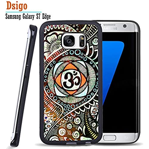 Galaxy S7 Edge Case, Samsung S7 Edge Black Case, Dsigo TPU Black Full Cover Protective Case for New Samsung Galaxy S7 Edge - Tribal Aztec pattern Sales