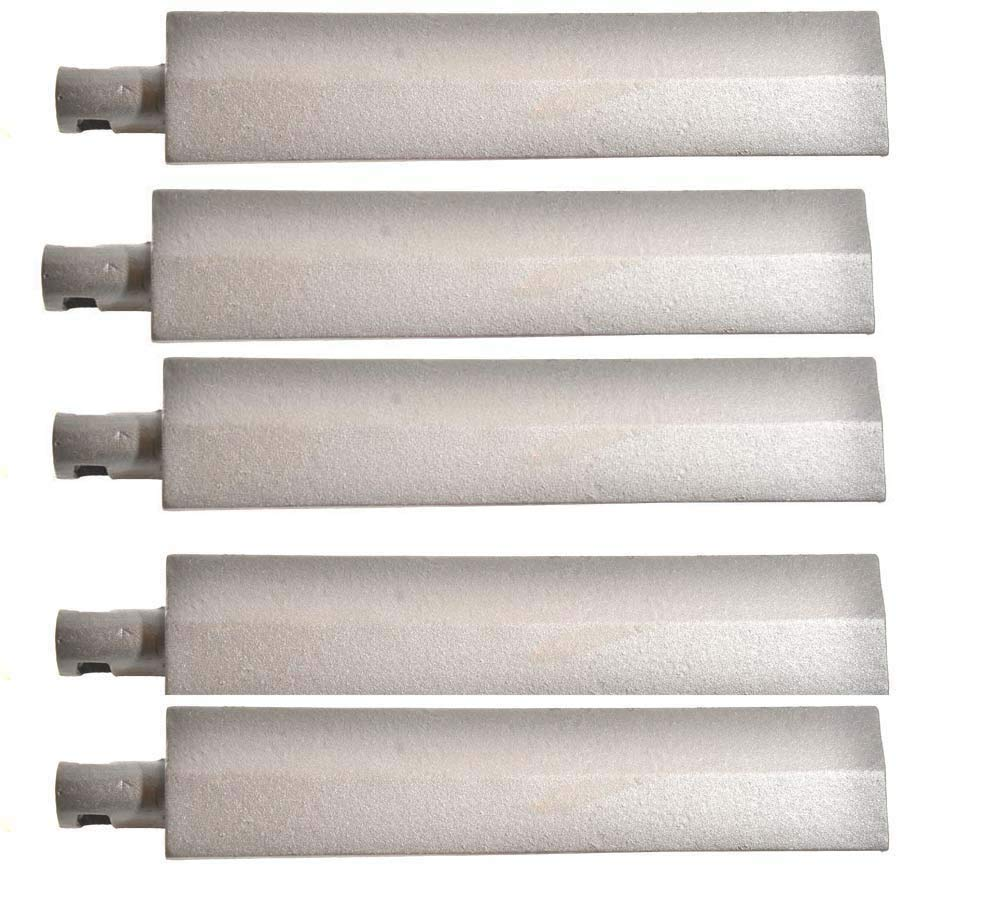 Grill Parts Zone Cal Flame, Beefeater, Flex Fire FLX3, FLX4R, FLX4RN, FLX5, FLX5R, Steele (All Modells) (5-PK) Cast Iron Burner