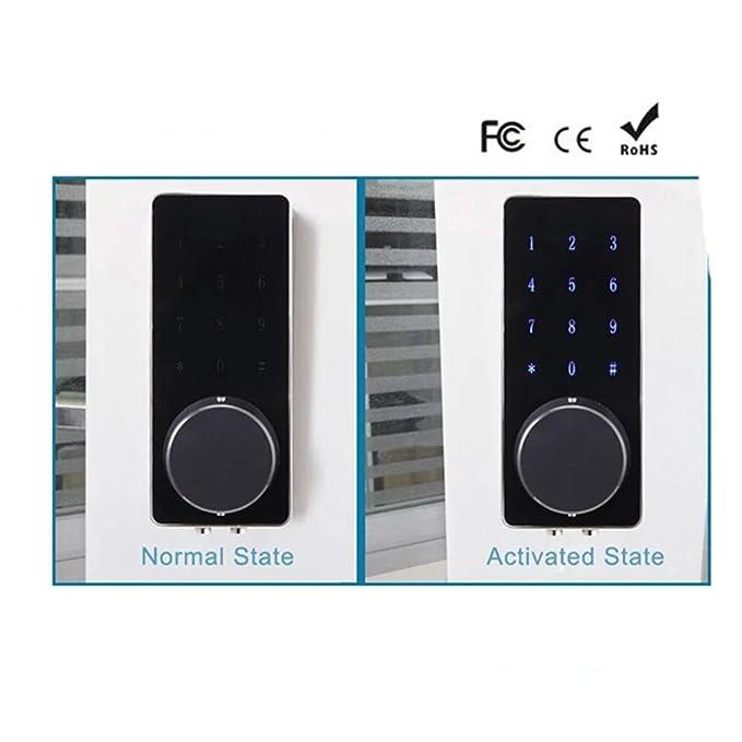 cerraduras electrónicas   invisible bloqueo remoto inteligente   cerraduras   cerradura inteligente / cerradura de la puerta: Amazon.es: Bricolaje y ...