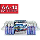 ACDelco AA Batteries, Alkaline Battery, 40 CountPack