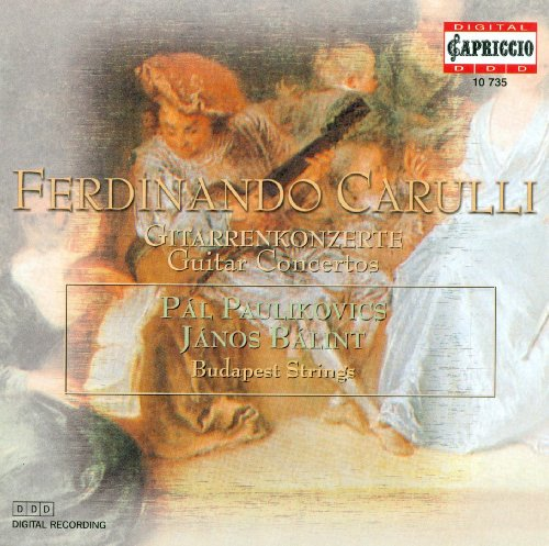 Carulli, F.: Concerto for Flute and Guitar, Op. 8 / Petit Concerto De Societe / Guitar Concerto in A Major