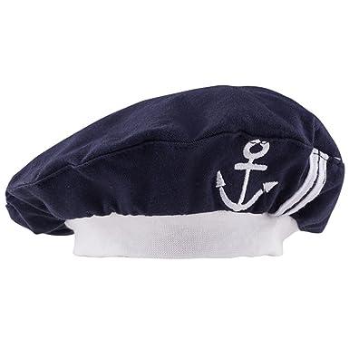 30e903fc18e Mombebe Baby Sailor Hats (Royal Blue)(Size  One Size)  Amazon.co.uk   Clothing
