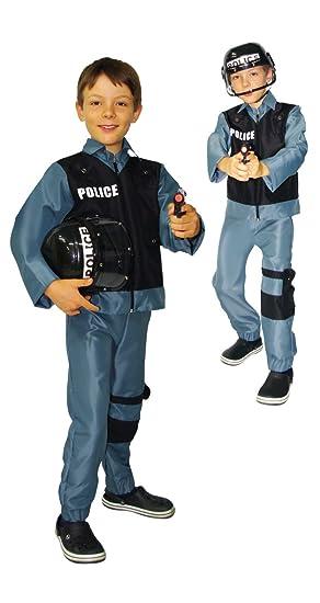 César - Disfraz de policía para niño, talla 8-10 años (F172-003)
