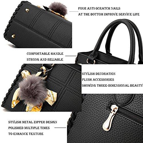A Pu Winered Pelle Classic Da Moda Semplici Borse Designer Yanjj Bag Messenger In Donna Donne Per Le Tracolla cqZUc1T8w