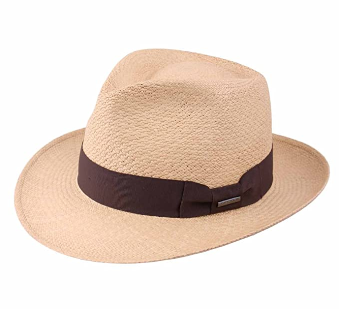 56d343090e21f Stetson Men s Fedora Ventilo Fedora Hat Size M  Amazon.ca  Clothing ...