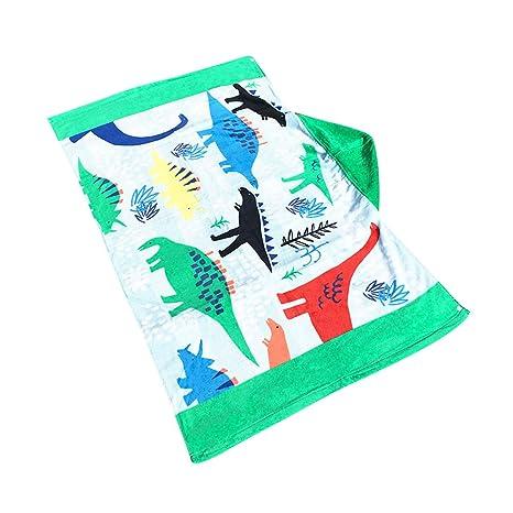 Poncho con capucha para niños, toalla de baño de playa de algodón para niños y