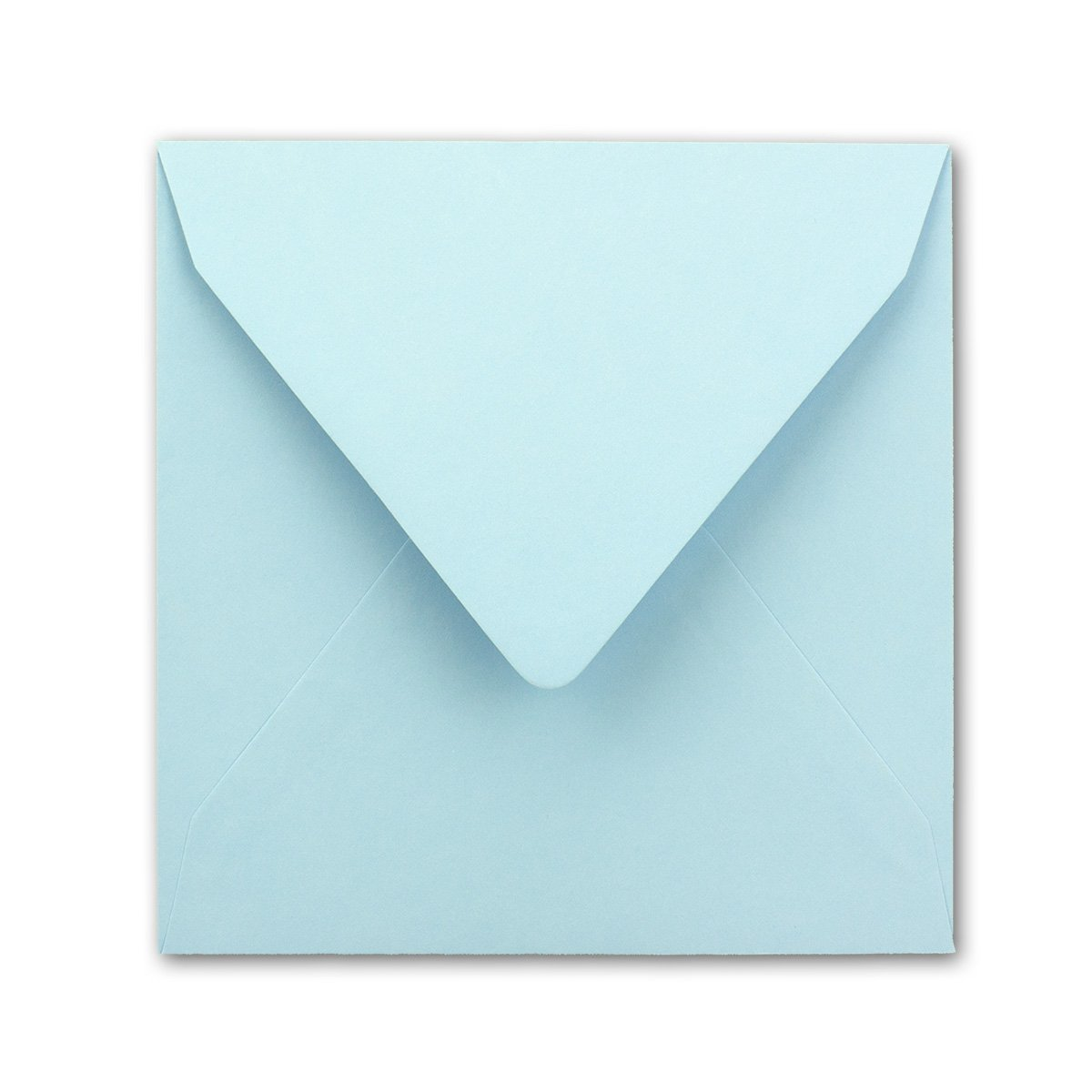 155 x 155 mm Quadratische Brief-Umschl/äge Serie FarbenFroh/® F/ür Einladungen /& Hochzeit! Nassklebung Farbe Hellblau 75 St/ück
