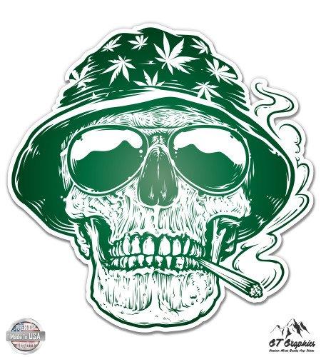 Reefer Express (Pot Smoker Skull Hippie Stoner - 8