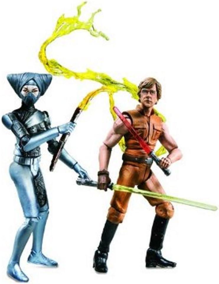 Star Wars Comic Packs Lumiya and Luke Skywalker