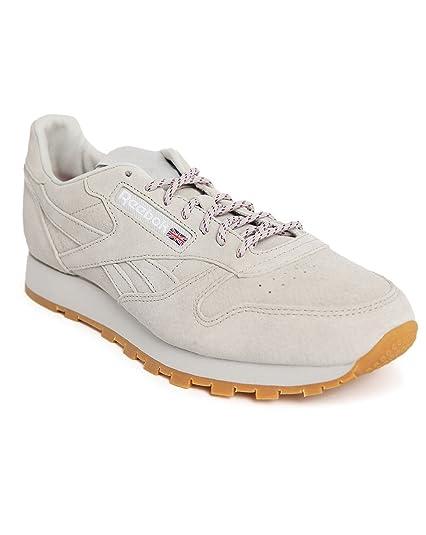 1064cfdf0c1 Reebok X Kendrick lamar Classic leather trainers UK 6  Amazon.co.uk  Shoes    Bags
