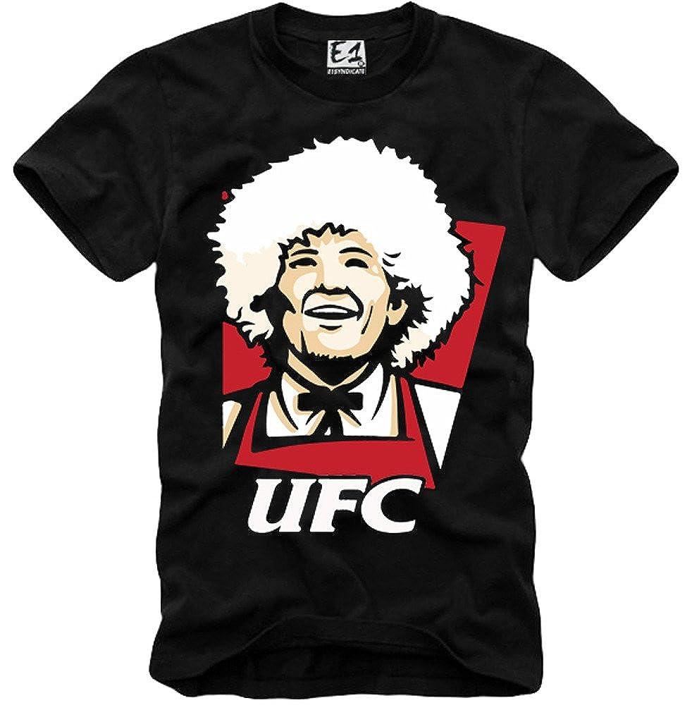 E1Syndicate T Shirt Khabib Nurmagomedov UFC: Amazon.es: Ropa y accesorios