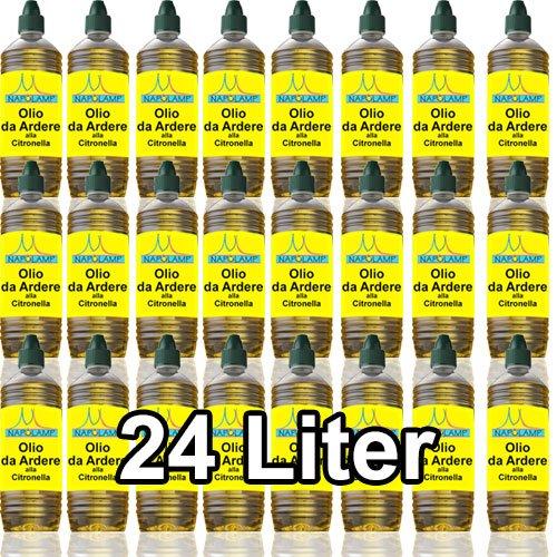 Olio per lampade e torce alla citronella (24 Litri) Brenntag
