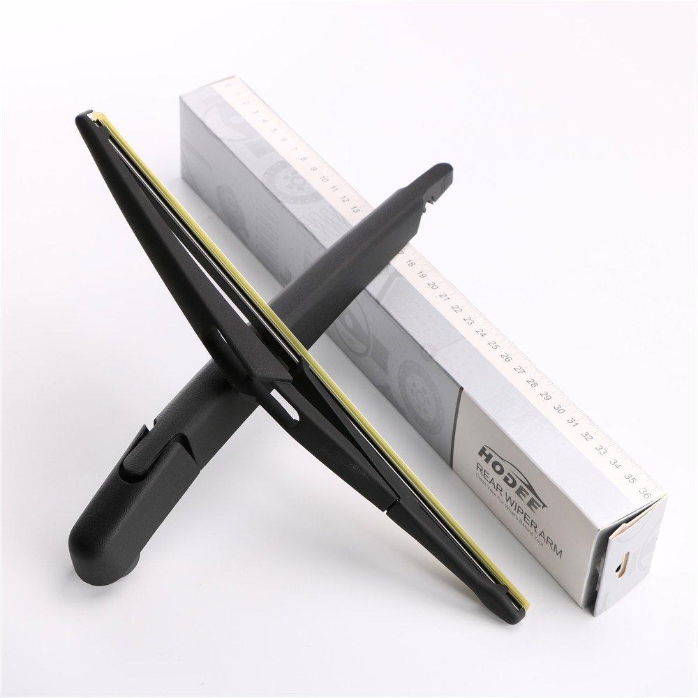 HODEE Bras dessuie-glace arri/ère /& Balai//Rear Wiper Arm /& Blade OE:60685160