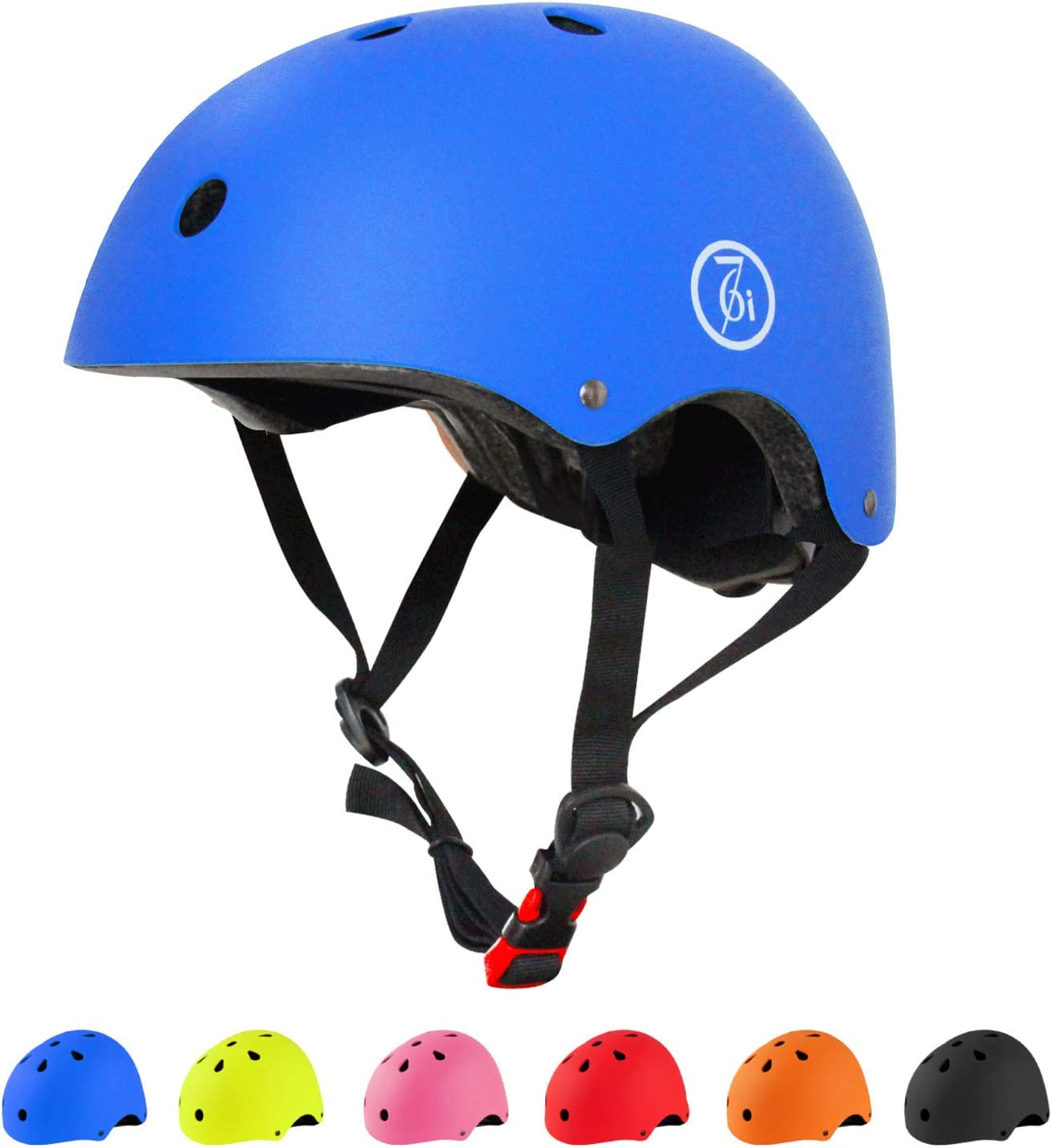 67i Skateboard Helmet Adult Bike Helmet CPSC Certified Adjustable and Protection for Skating Helmet Adults Multi-Sports Cycling Skateboarding Scooter Roller Skate Inline Skating Rollerblading