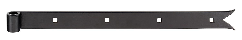 gerade /Ø14 mm GAH-Alberts 308629 Ladenband Abschluss Karpfenschwanz 500 x 30 mm schwarz