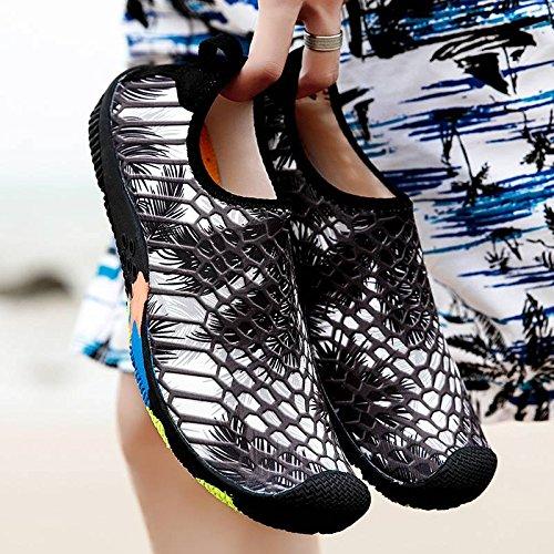 Rapide Respirant Extérieurs Gris Chaussure Bigood Séchage Chausson d'eau Plage Sport qIOaR