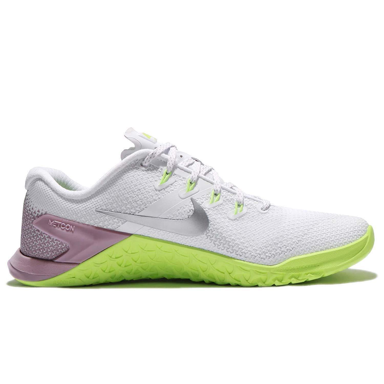 Nike Woherren WMNS Metcon 4 Weiß Weiß Weiß Metallic Silber 10 M US 58ba6e