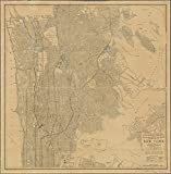 Historic 1907 Map | Map of the northern part of the Borough of Manhattan and the Bor | Maps of New York City and State | Manhattan