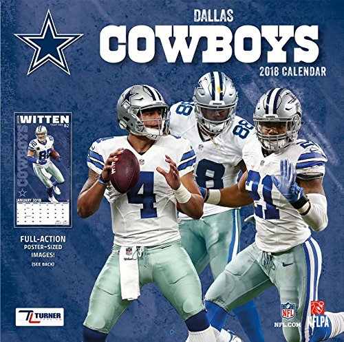 Dallas Cowboys 2018 Calendar (Cowboys College Basketball)