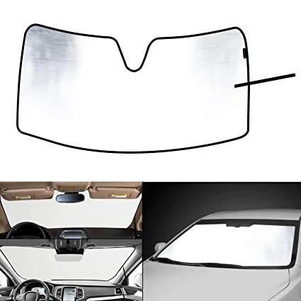 WINUNITE Front Windshield Sunshade Sun Shade for 2009 2010 2011 2012 2013  2014 2015 2016 2017 7b0bc220ad8
