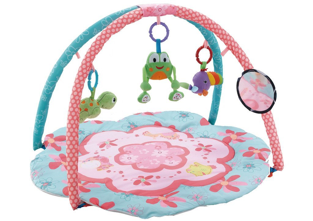 EMILYSTORES Princess Prince Baby Activity Play Gym Mats Ocean Park 30