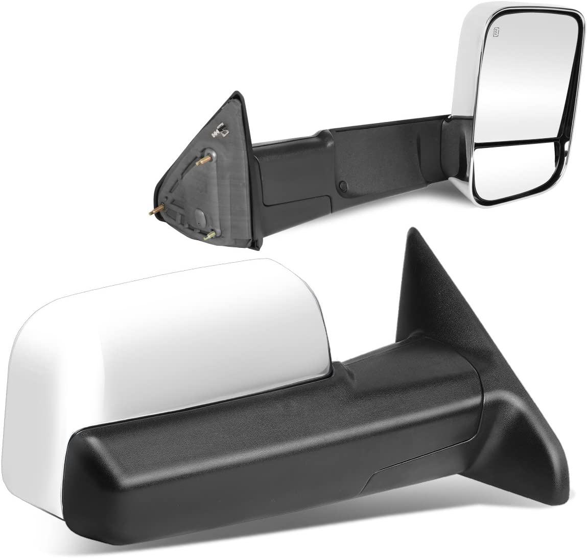 For 02-08 Dodge Ram 1500 2500 3500 Towing Mirrors Power Heated Led Signal Lights