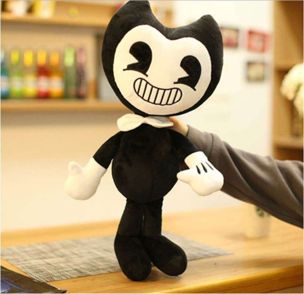 Peluches Bendy Doll De 30 Cm Y La Máquina De Tinta De Peluche Juguetes Rellenos De Halloween Thriller Game Plush Doll Soft Children Gift