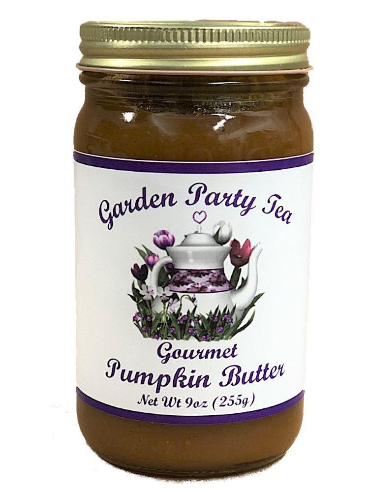 Gourmet Pumpkin Butter 9oz Jar by Garden Party Tea