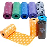 Healthy Clubs Lot de 100 sachets de ramassage jections canines 5 rouleaux