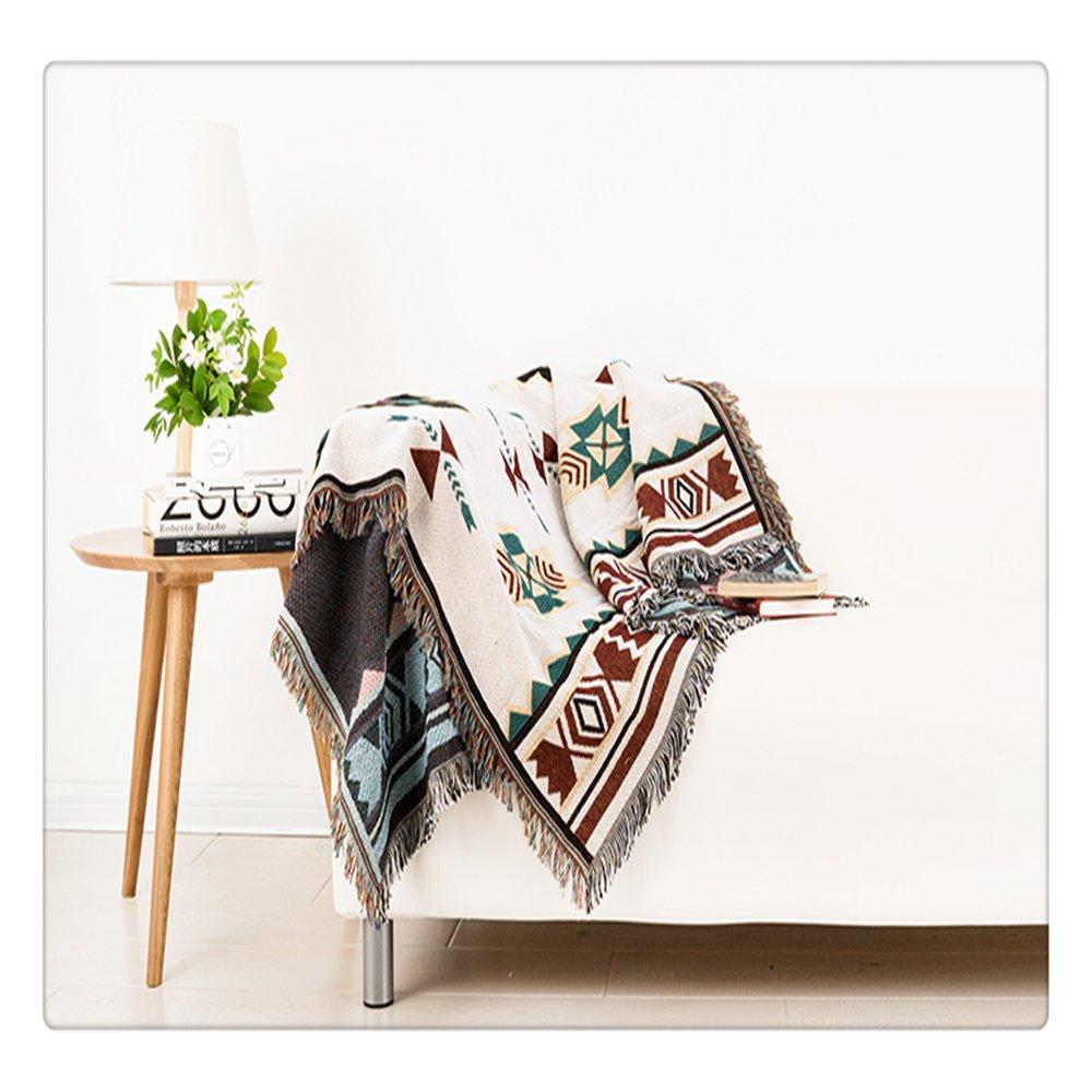 Amazon De Peel Forest 90 Cm Sofa Tribal Stil Decke Uberwurf