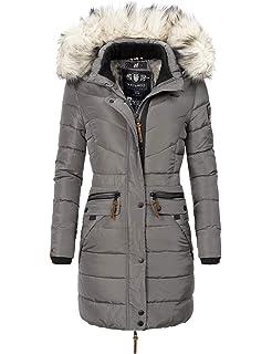 Navahoo Damen Winter Jacke Winter Mantel Steppmantel