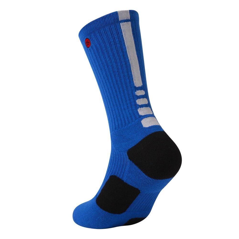 3street SOCKSHOSIERY メンズ B078YQMKKD M(shoe size 6-8) 1 Pair Blue 1 Pair Blue M(shoe size 6-8)