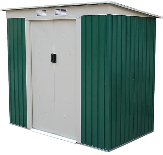 Gardiun KIS12909 - Caseta Metálica Buckingham (Verde) - 2, 43 m² ...