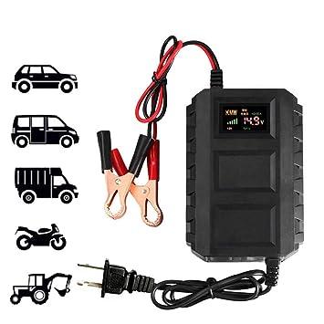 YTBLF Cargador de batería de Coche de la Motocicleta ...
