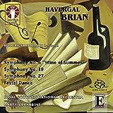 BRIAN. Symphonies Nos.5, 19 & 27. RSNO/Brabbins (SACD)