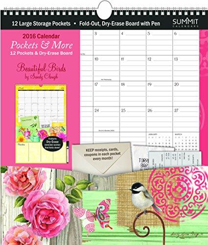 Summit Calendar Pockets Beautiful 90436