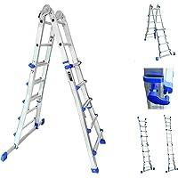 Sistema de combinación de escaleras de mano, multifuncional