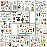Our Temporary Tattoos for Women, Girls or Children are the best choice of temporary tattoos!  Quickly shipment & No Hassle 100% Money Back Guarantee. Fulfilled by Amazon. You can get the items surprising quick.  Easy return ,Easy refund ,100% Money B...