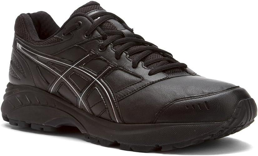 Garantizar Esquivar Describir  Amazon.com   ASICS Gel-Foundation Walker 3 (4E) Mens Walking Shoe  Black/Onyx/Silver   Walking