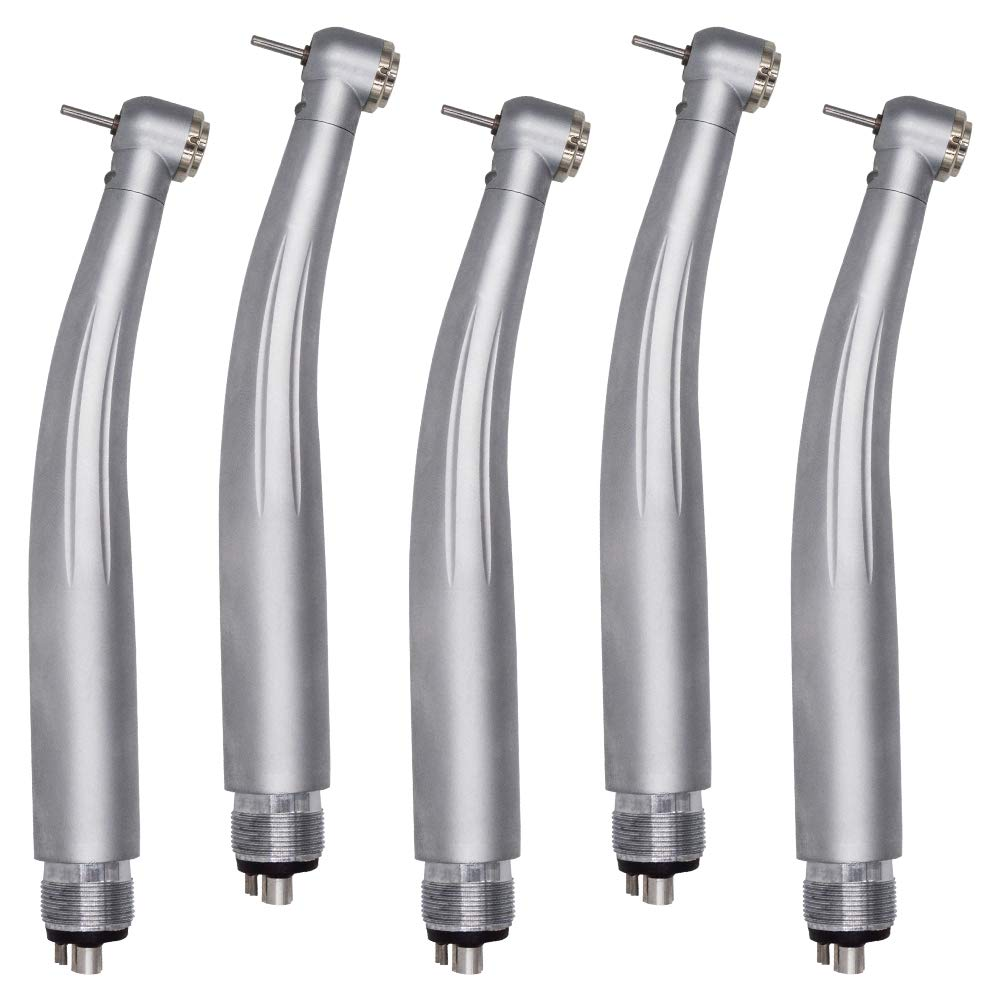 5PCS High Speed Air Tools Compatible with LED Light 4 Holes