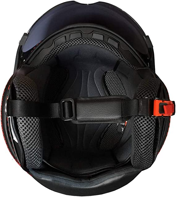 Rallox Jethelm P01 Retro Matt Grau Motorradhelm Größe S Sturzhelm Helm Rollerhelm Auto