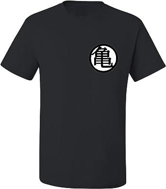 ALLNTRENDS Adult T Shirt Goku's Training Symbol Trendy Shirt Popular