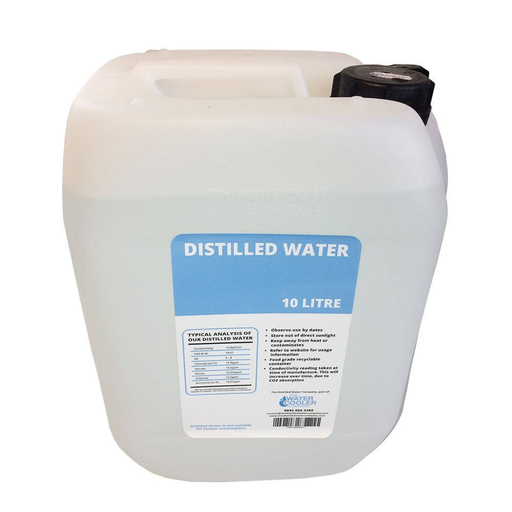 The Water Delivery Company Eau distillé e 10 l The Distilled Water Company