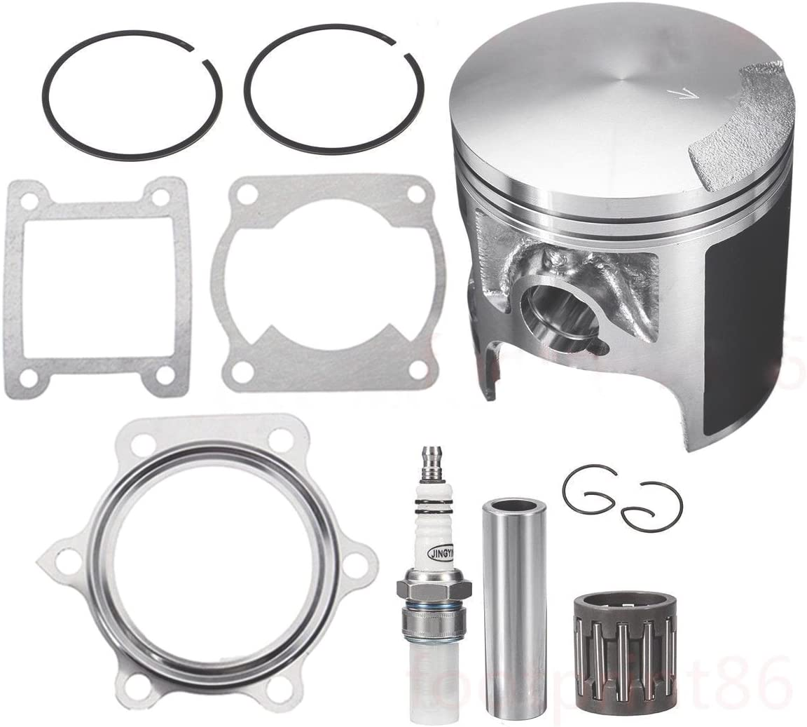Yamaha Blaster YFS200 66mm Stock Standard Bore Piston Kit /& Top End Gaskets Set