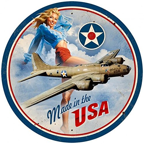 (Made in USA Air Force Pin-Up 14