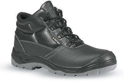 UPOWER - Calzado de protección para hombre, color negro, talla 46