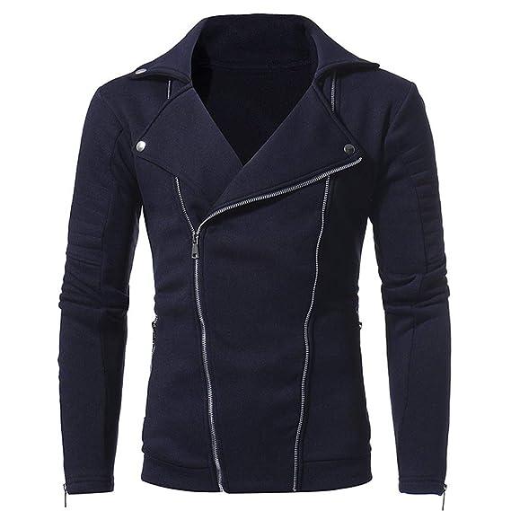 Cebbay Chaquetas para Hombres Camisa de Entrenamiento Cárdigan con Cremallera y Solapa Liquidación: Amazon.es: Ropa y accesorios