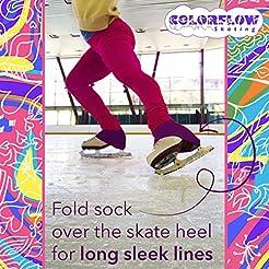ColorFlow Skating Microfiber Knee High S...