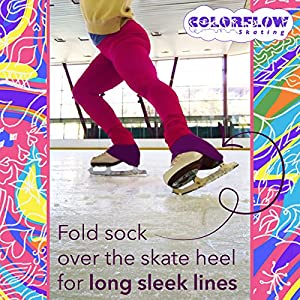 ColorFlow Skating Microfiber Knee High Skating Tights